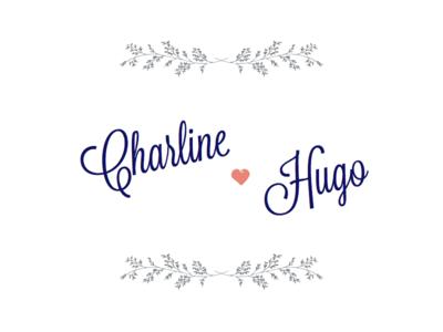 Charline ♥ Hugo