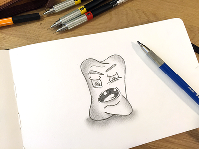 Skeeetch character paper draw sketch