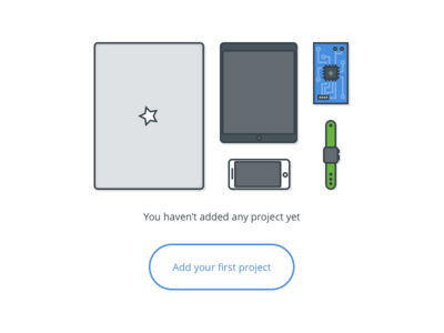 No Project view