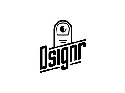 Touch my tralala black dsignr designer eye finger white logos logo