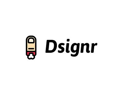 Oops my finger minimalism minimalist cut designer dsignr finger logo