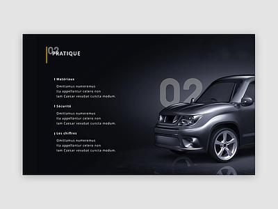 Gazelle Tech Cars Redesign dark interface ui ux product creation landing page webdesign gazelle tech redesign cars