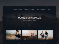 Spacefox Shop Redesign
