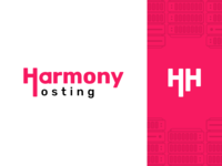 Harmony Hosting - Logo redesign