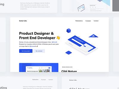 New design portfolio branding website app web animation webdesign interface ux ui webflow figma new portfolio