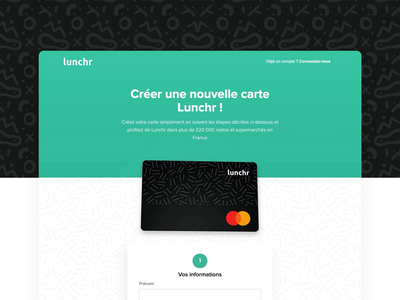 Card completion animation figma webflow 3d card creation creation new client landing eat new animation lunchr card