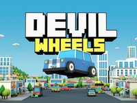 Devil Wheels - Graphic game design