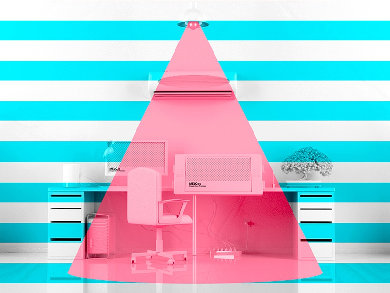 Designer Colorful Studio Tools wacom apple designer cinema 4d desktop 3d colorful motiongraphics video
