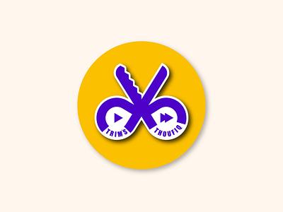 Youtube Channel Logo sticker vector colorful illustration symbol design icon identity logo branding
