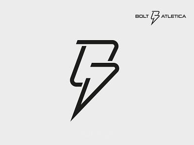 Bolt Atletica Logo and Brand Identity logo identity brand logo graphic design vector icon ui illustration symbol design logo identity branding