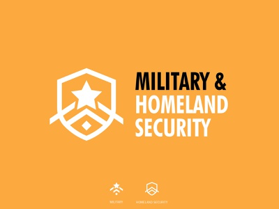 Military & Homeland Security dubai helishow homeland security military graphic design illustration symbol identity design icon branding logo