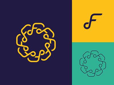 Symmetrical Logo symmetrical logo vector illustration symbol logo identity design icon branding