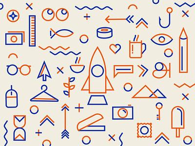 Icon Collage thoufiqsiraj tamil vector illustration symbol design icon sets icon logo branding