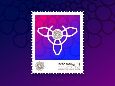 Expo 2020 Dubai identity vector illustration symbol design branding welcome icon stamp dubai expo 2020 dubai expo