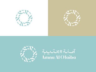 Symmetry logo bilingual arablogo bilinguallogo ux vector ui illustration symbol identity icon design logo branding