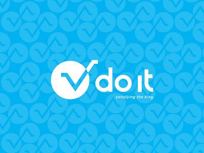 V do it Logo Branding logofolio logo branding vector do do it v do it floor repair illustration symbol identity icon design branding logo