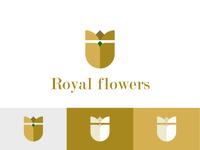 Royal Flowers Logo