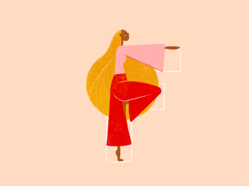 F for 36 Days of Type character yoga typography type art type letter art letter a illustration graphic design design art 36daysoftype06 36daysoftype 36days-b 36days 36 days of type lettering 36 days of type