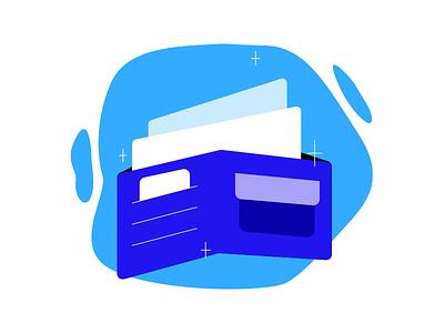 Finances credit card finances finance payment paypal visa money wallet icon design icon art design graphic design illustration