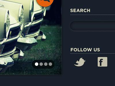 Amabapu sneak peek dark ui dark blue search links