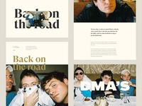 DMA's Article page - Blog post
