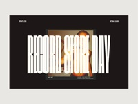 Record Store Day - Website Feature