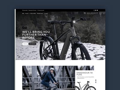 KALKHOFF 2020 home design update bikes slider home design