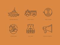 Rescue Service Icons