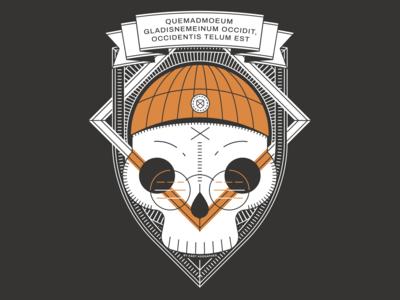 Hackathlon T-shirt Skull Design vol 2
