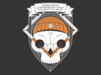 Hackathlon T-shirt Skull Design vol 2