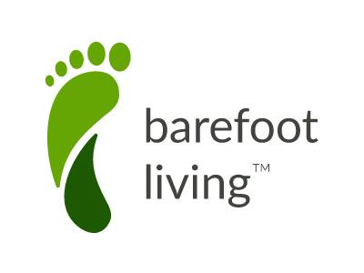 Barefoot Living Logo Freebie barefoot living foot logo free
