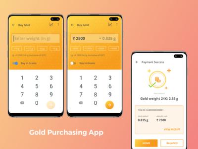 Gold Purchasing App