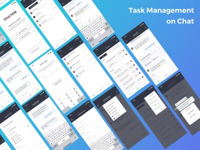 Task Management iOS application