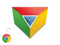 Chrome Prism Icon