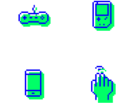 Gaming icons 01