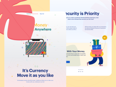 GoMoney Prelaunch Campaign Website