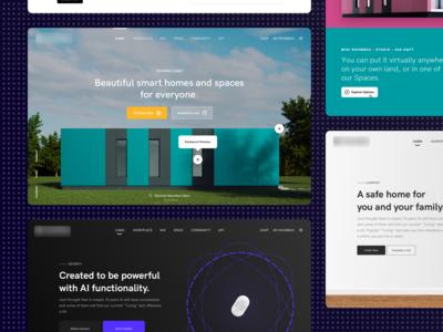 Smart Home Website