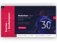 Football Scores/News Concept