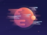 Gaseous Planet