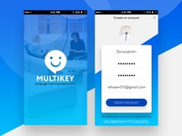 Multikey Mobile Application