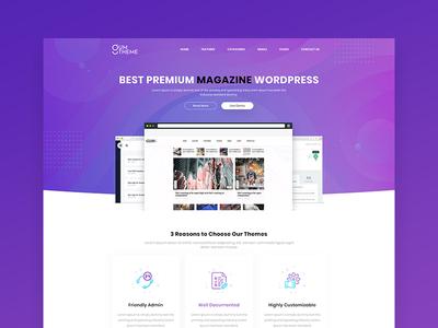 Magazine Wordpress Selling Website