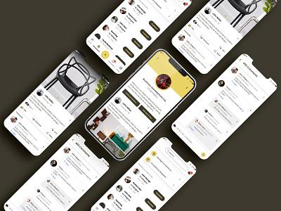 Social Media Application for Professionals professionals networking app social media app design mobile app design uiuxdesign app design app