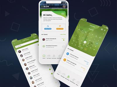 Football Event App UIUX app uiux mobile app design sports event app football app football event app sports app design mobile app uiuxdesign app design