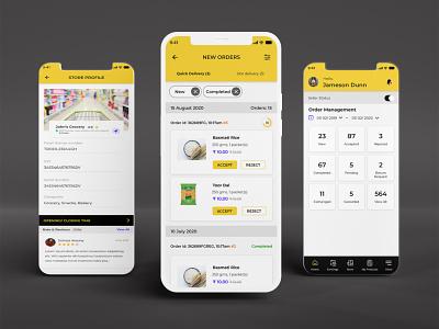 Online eCommerce Shopping App UI/UX Design ecommerce shopping mobile app mobile app app uiux app design online ecommerce app shopping app design