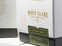 Minto Island Tea Packaging