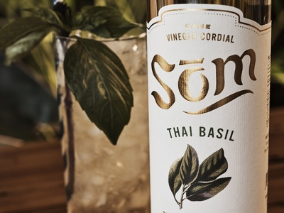 Som Cordial Packaging