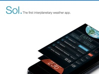 Sol. | The First Interplanetary Weather App