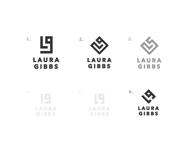 WIP - Which one? personal brand branding logo