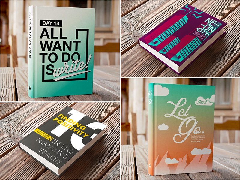 30-Day Creative Challenge: Book covers