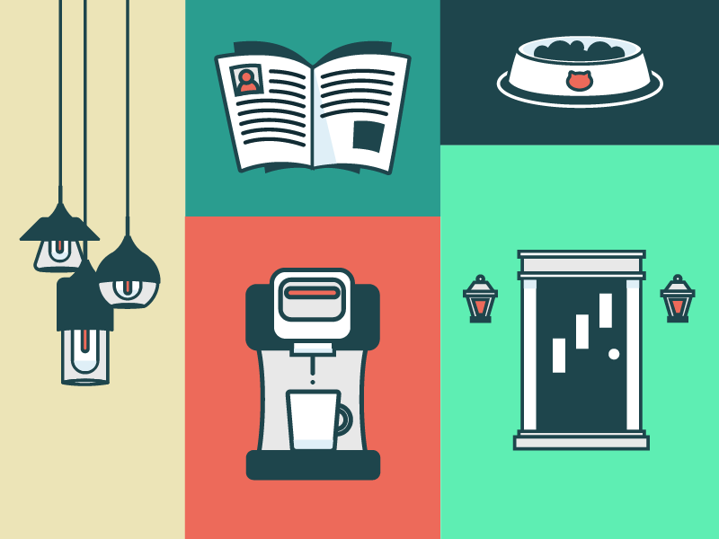 Motion Graphics Illustrations smart home illustrations motion graphics